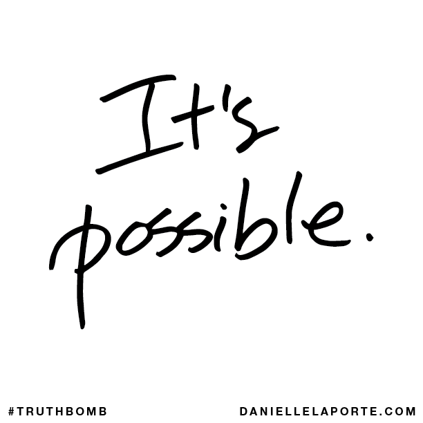 It's possible.